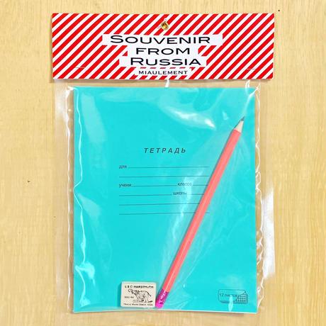 【ロシア買付】ロシアステーショナリーセット/blue