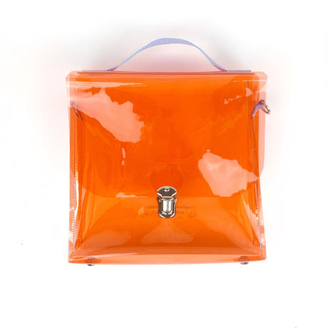 7inch  PVC  Record BAG /Orange×Light Blue