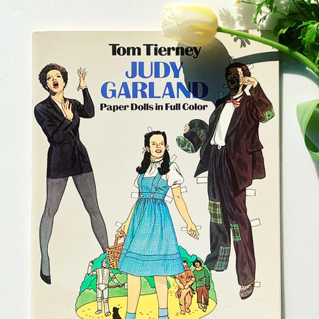 【from US】judy garland paper dolls in full cover