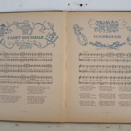 フランス 楽譜