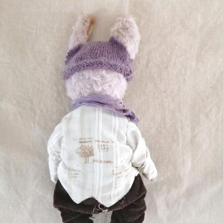ニット帽のBunny