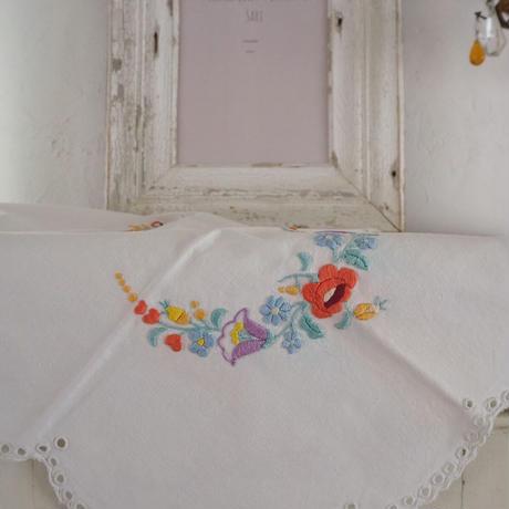 ハンガリー カロチャ刺繍「A」