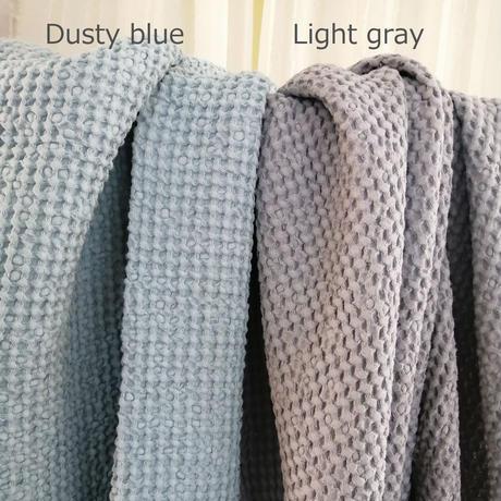 ワッフルブランケット Light gray