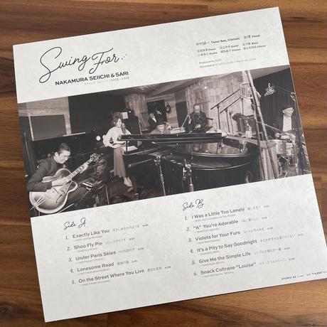 【LPレコード】Swing for ... / 中村誠一&紗理