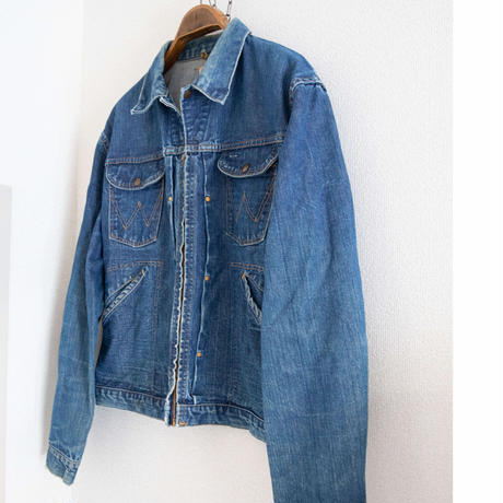 "60's ""Wrangler 24MJZ"" Denim Jacket"