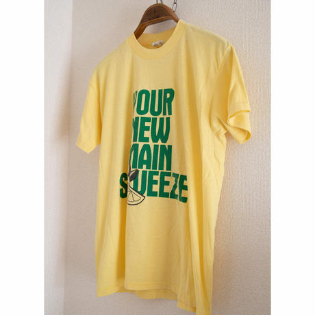 "80's""CANADA DRY"" Lemon Ginger Ale T-Shirt"