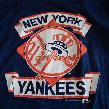 "89's ""NEW YORK YANKEES"" Print T-Shirt"