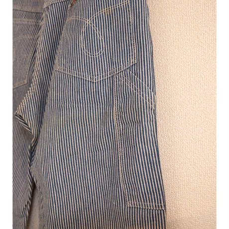"70's ""Key"" Hickory Stripe Painter Pants"