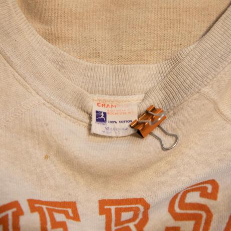 "60's ""Champion"" Runers Tag Sweat Shirt"