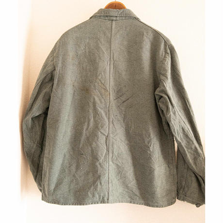 "70's ""Green Chambray"" Work Jacket"