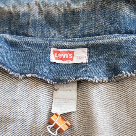 """70's """"Levi's """" Orenge Tab Bush jacket"""