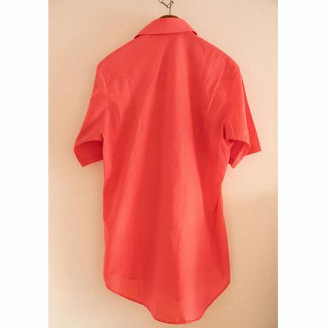"80's ""HOLT"" Western Short Sleeve Shirt"