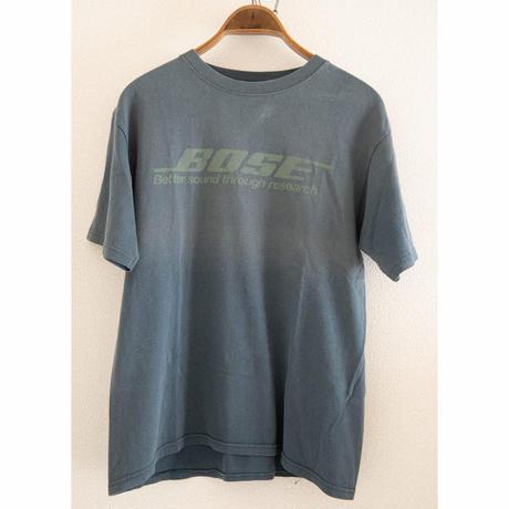 "00's ""BOSE"" Logo Print T-Shirt"