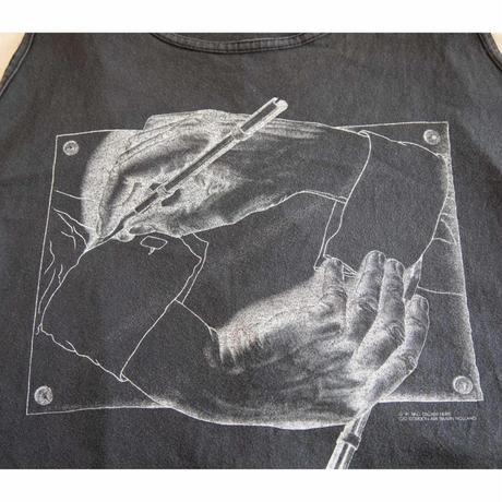 """90s' """"M.C Escher"""" Tank Top Shirt"""