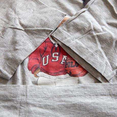 "80~90's ""POLO SPORT"" Polo Bear Dead Stock T-Shirt"