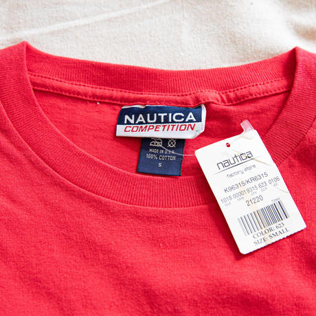 "90's ""NAUTICA"" Dead Stock T-Shirt"