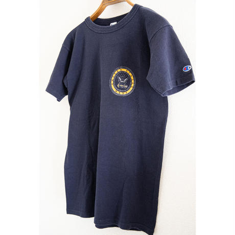 "80's""Champion"" NAVY T-Shirt"