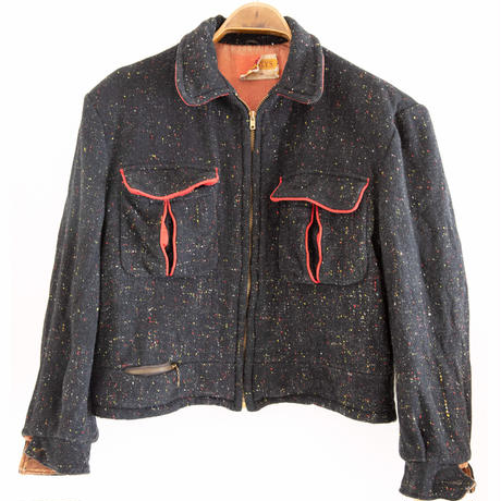 """50's """"PENNEYS"""" Short Wool Blouson"""