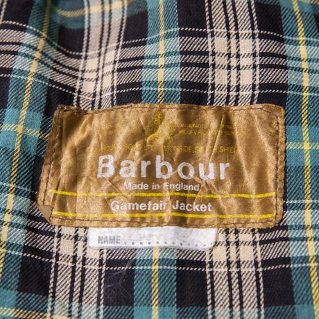 70's 1warrant Vintage Barbour Game Fair