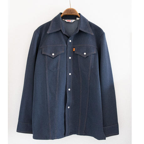 "70's ""LEVIS""Saddleman Western Shirt"