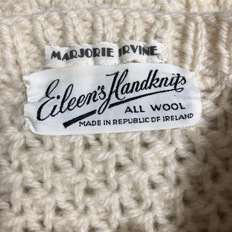 Eileen's Handknits  Cable Knit Cardigan