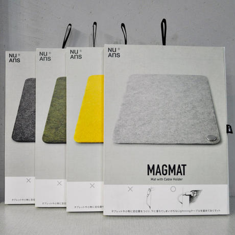 "MAGMAT ""Mat with Cable Holder""[NuAns]"