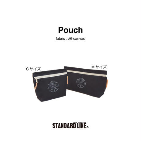 Pouch S  [6号帆布 ]