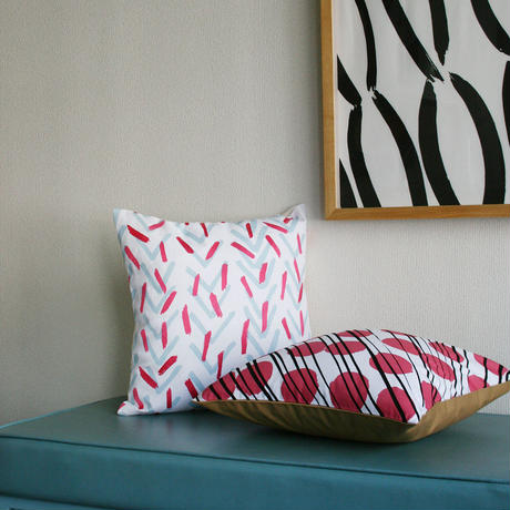 "CUSHION COVER ""Branch"""