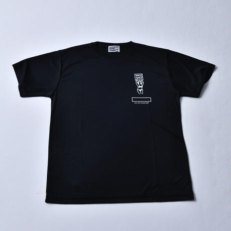 HOLY'S HIT DRY SILKY TOUCH T-Shirt / BLACK・WHITE