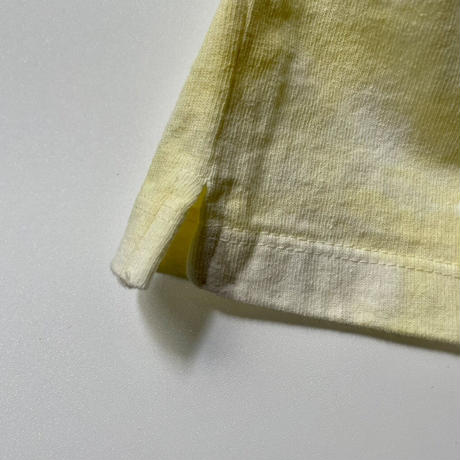 8 SHIT Tie-dye T-Shirt / YELLOW