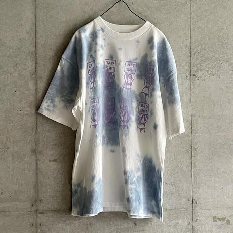 8 SHIT Tie-dye T-Shirt / BLUE