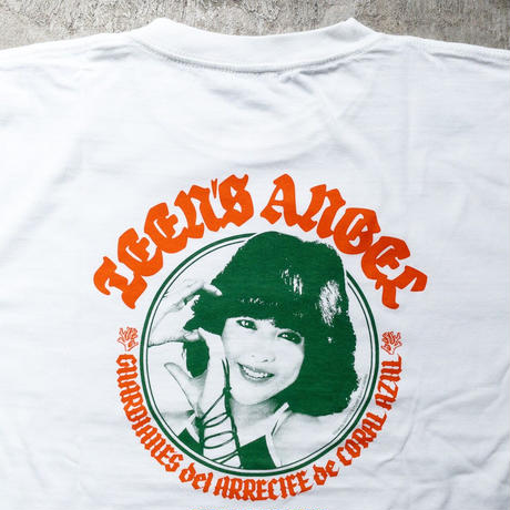 [Match&Pump]Teen's Angel T-Shirt/WHITE