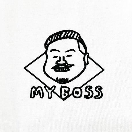 "HOLY'S HIT ""THE BOSS"" T-Shirt / WHITE"