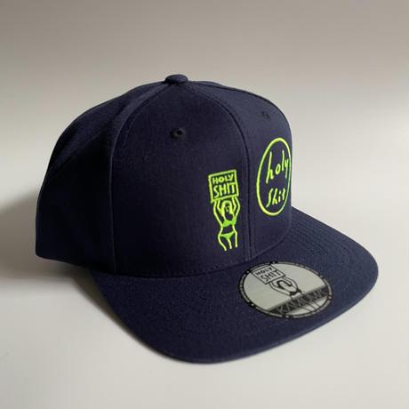 HOLY SHIT SNAPBACK CAP(DARK NAVY)