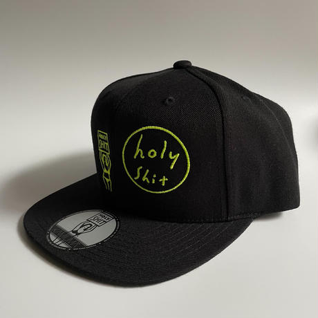 HOLY SHIT SNAPBACK CAP(BLACK)