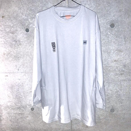 HOLYちゃんロングスリーブTシャツ(両脇ポケット付)