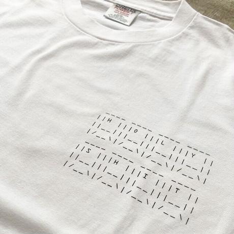 HOLYちゃん AA T-Shirt / WHITE