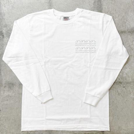 HOLYちゃん AA Long Sleeve T-Shirt / WHITE