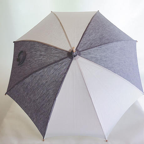 リネンの日傘