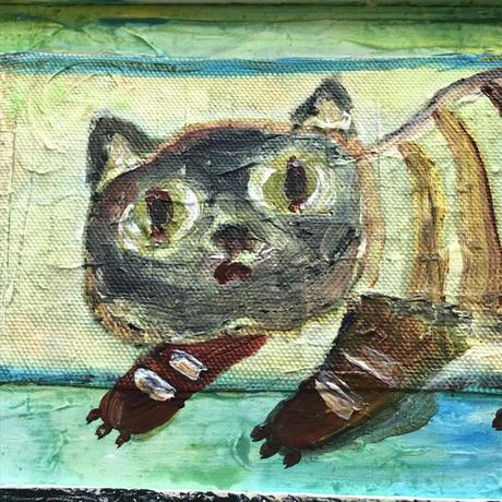 「サトイモちゃん」猫の絵 ST104