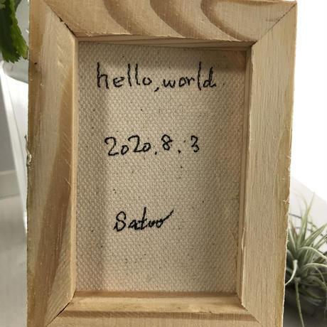 【だ-102】「hello,world!」 ST228