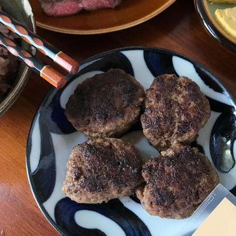 [常温保存]玉子1個と肉300gでハンバーグ