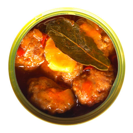 [常温発送]キョフテ赤(羊の団子辛いトマトソース)缶詰