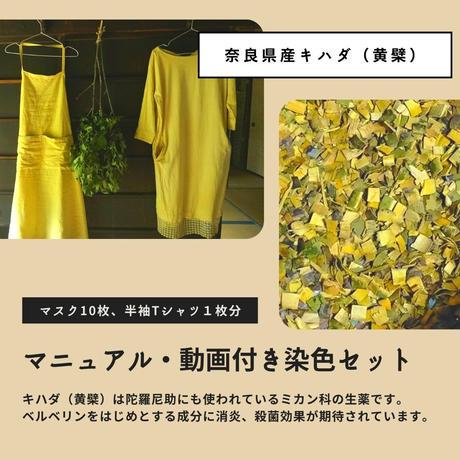 キハダ(黄檗)染色セット(マニュアル・動画付き)