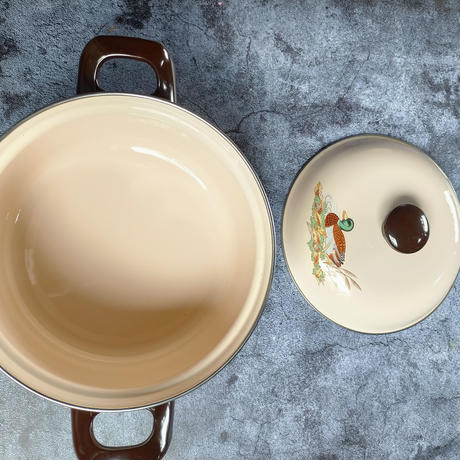 富士琺瑯 ホーロー鍋 (カルガモランド)