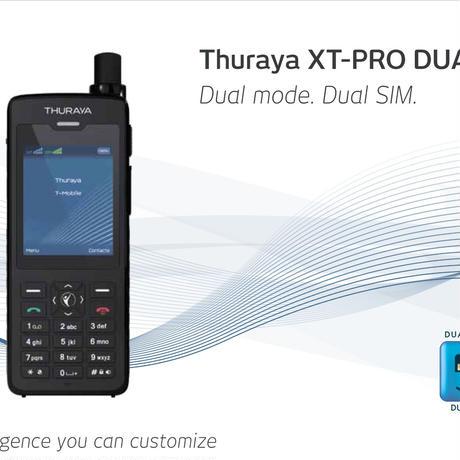 Thuraya XT Pro DUAL  最新型最上位モデル
