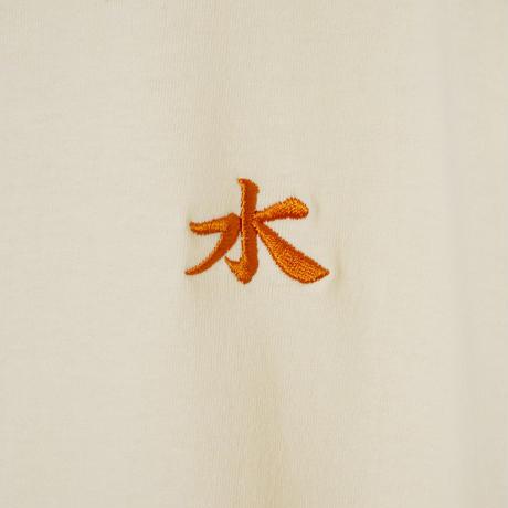 水風呂ひゃっこいTシャツ(カスタード)