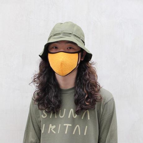 英字ロゴLong Sleeve T-Shirt  オリーブ