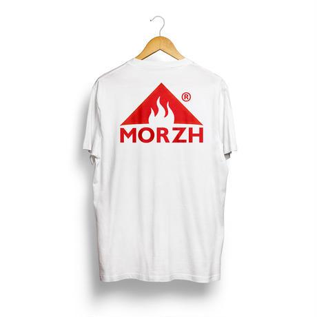 MORZH ロゴT(White)
