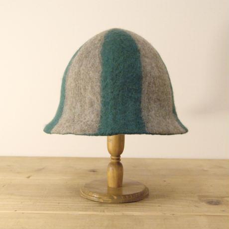 SAUNA HAT  No.150「Stripe」